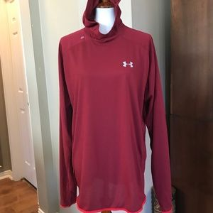 UNDER ARMOUR RUN FITTED LONG-SLEEVED T-SHIRT